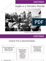 A descolonizaç¦o e o Terceiro Mundo