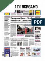 L Eco Di Bergamo 7 Aprile 2020