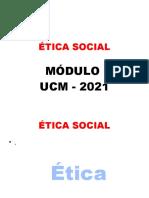 ETICA SOCIAL UCM