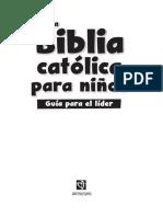 Biblia para niños Sampler