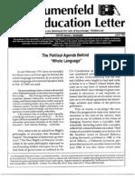 The Blumenfeld Education Letter June_1991