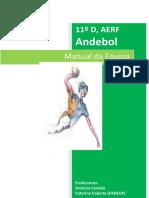 Manual de Equipa - Andebol 11ºD