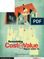 cost vs value 2009-2010