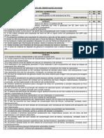 Checklist Pasa