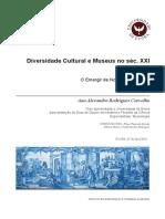 Ana Carvalho - Diversidade Cultural e Museus no séc. XXI - O Emergir de Novos Paradigmas