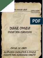 Eugen Nicolae Gisca DUHUL OMULUI 2