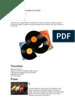 Cómo pasar discos de vinilo a CD o DVD