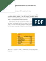 As 10 ações de Empresas Brasileiras que mais caíram nos últimos 12 meses