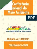 Caderno-Debate-mudancas-climaticas Ministerio Do Meio Ambiente