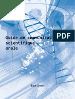 Guide de Communication Scientifique Orale - Glover