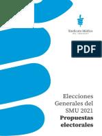 Propuestas electorales - Sindicato Médico del Uruguay