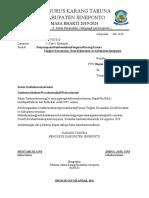 surat edaran pembentukan KT