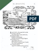 VILLAVA - Sobre el apóstata - Cuervo - Empresas espirituales y Morales