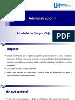 Tema IV Administracion por Objetivos (1) (1)