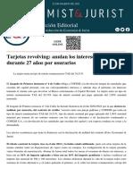 (03.05.2021) 2 TARJETAS REVOLVING