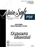 Rainsoft Gold Series Water Treatment