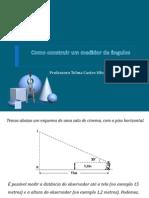 Como construir um medidor de ângulos