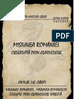 Eugen Nicolae Gisca Misiunea Romaniei Observata Prin Clarvedere