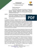 CIRCULAR  185 RECUPERACION DE TIEMPO