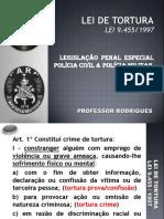 LEI DE TORTURA
