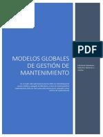 MODELOS GOBLAES DE GESTION DE MANTENIMIENTO