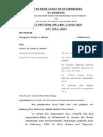2021 Uttarakhand HC Judgment