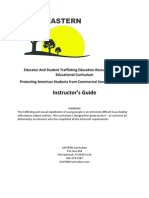 EASTERN Curriculum Instructors Guide