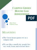 Campus GhG assessment_ppt