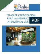 Pacifico Plan de atención al cliente