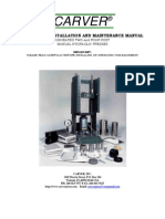 Carver Hydraulic press manual