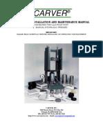 Carver Hydraulic press manual
