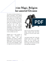 WFRP - All things Orc