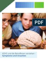 ADHS Broschüre