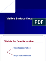 Computer Graphics - Visible Surface Detection