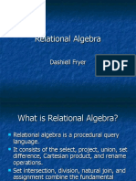 concepts of Relational Algebra