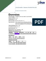 Annexe 4 Validation Des Formules Données d'Entrée Piecoef+