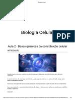 BIOLOGIA AULA 02