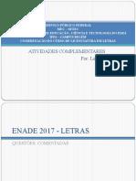 PPT ENADE Atividades Complementares 2021