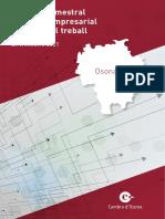 Informe trimestral del teixit empresarial i mercat del treball d'Osona
