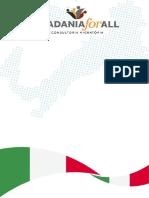 Plano de Investimento Parte Itália