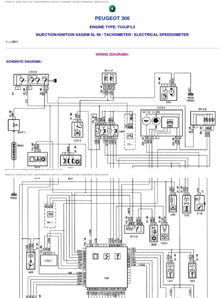 peugeot 306 wiring diagrams rh scribd com peugeot 306 door loom wiring diagram peugeot 306 wiring diagram download