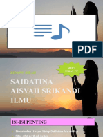 PELAJARAN 23 -Saidatina Aisyah Srikandi Ilmu