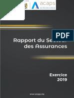 Rapport Secteur Des Assurances 2019
