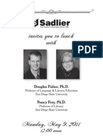 Lunch with Douglas Fisher & Nancy Frey