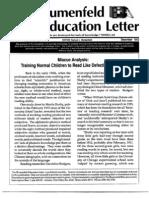 The Blumenfeld Education Letter December_1992