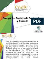 Inducción Inscripcion SECOP II
