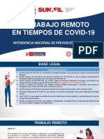 3.- El Trabajo Remoto en Tiempos de Covid-19