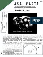 NASA Facts Biosatellites