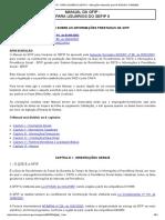MANUAL DA GFIP - Alterações Efetuadas Pela in INSS_DC Nº 94_2003