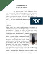 Codigo Hammurabi, Resumen 11 Al 93